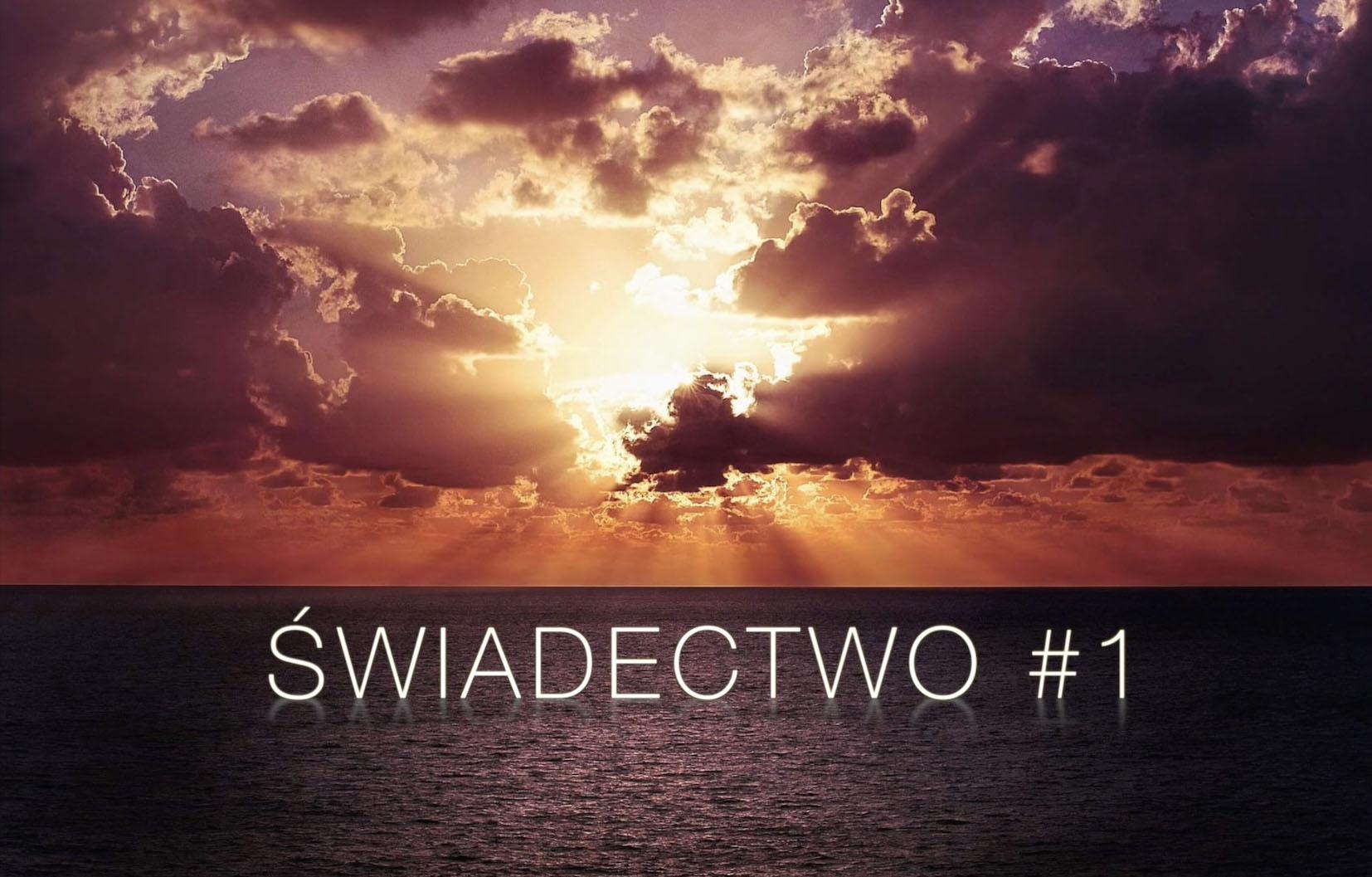 Świadectwo #1 - Jak Bóg prowadził mnie do siebie i jak zmienił moje życie (moje nawrócenie)