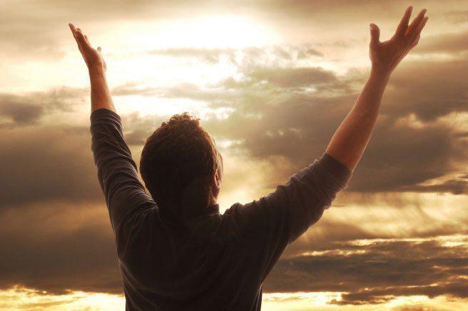 Modlitwa dziękczynna - Boże mój Ojcze Niebieski wysławiam Cię i chwalę każdym moim oddechem.