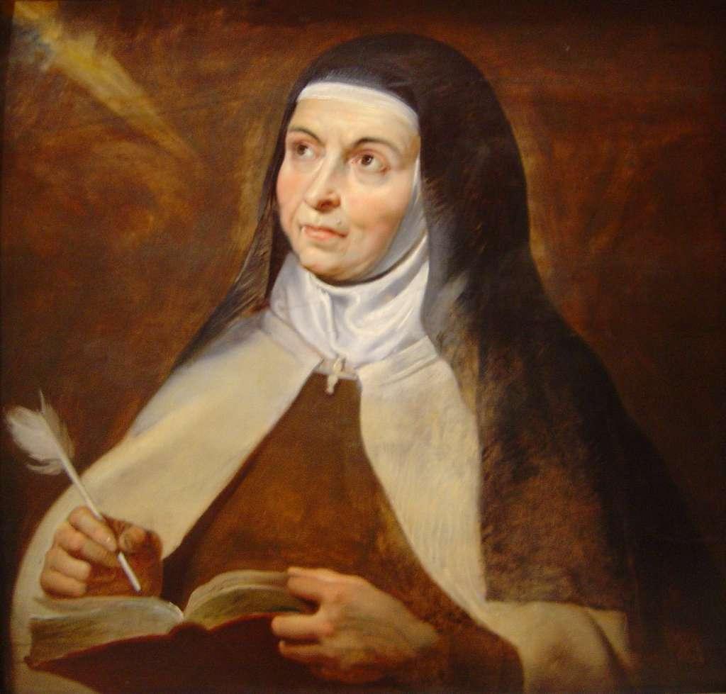 Z Twojej tu jestem przyczyny, Św. Teresa od Jezusa