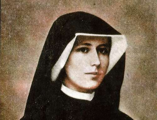 Jak najgłębiej ukryć się w sercu Jezusa; św. Faustyna Kowalska