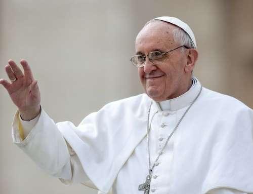 Pokój, miłość i radość – dary Ducha Świętego, papież Franciszek