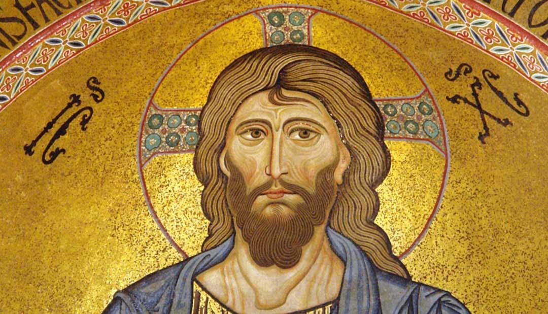 Niketas Stetatos (ikona Chrystusa Pantokratora – mozaika w apsydzie katedry w Cefalù)