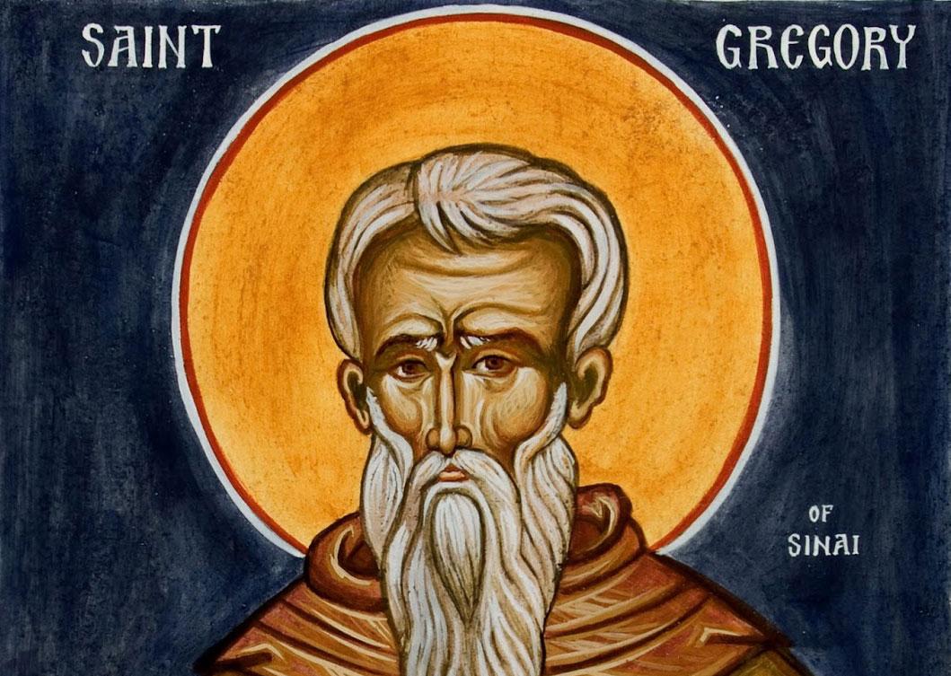 św. Grzegorz z Synaju