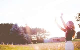 Modlitwa uwielbienia - Sprawiedliwy Boże! Chcę Cię uwielbiać każdym oddechem!