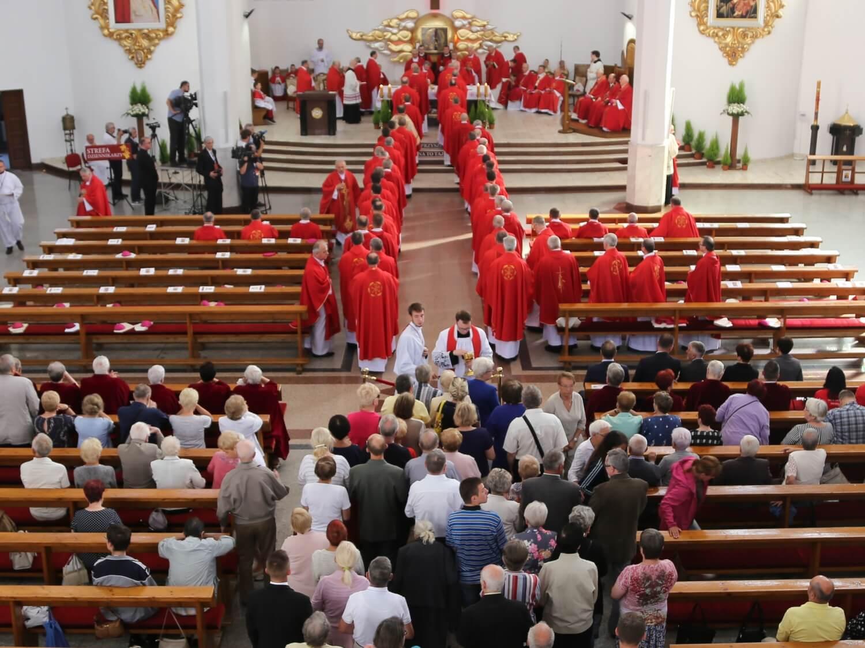 Msza św. na zakończenie zebrania plenarnego KEP 14 czerwca 2019 roku w Wałbrzychu. Fot. episkopat.pl