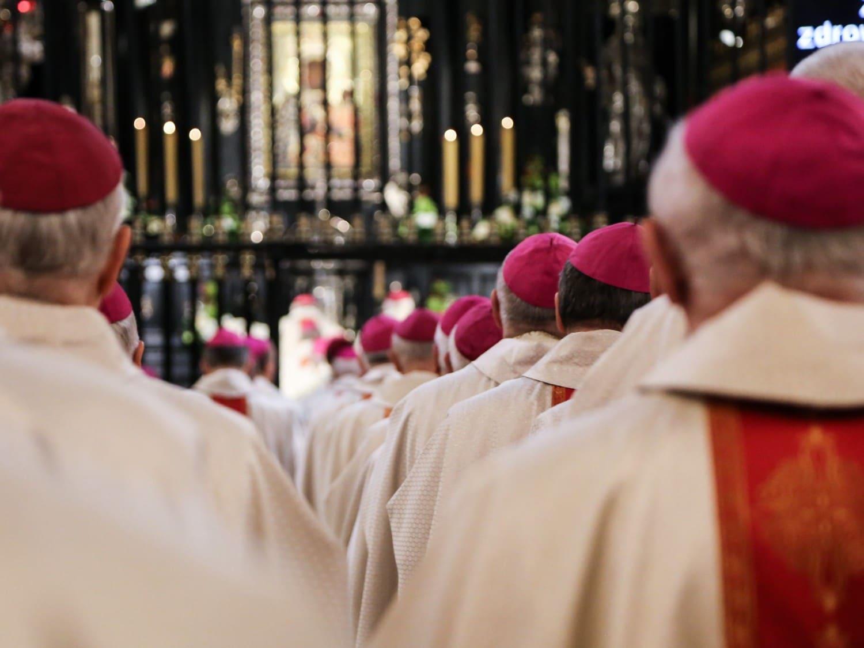 Rekolekcje biskupów 19 listopada 2019 roku na Jasnej Górze. Fot. episkopat.pl