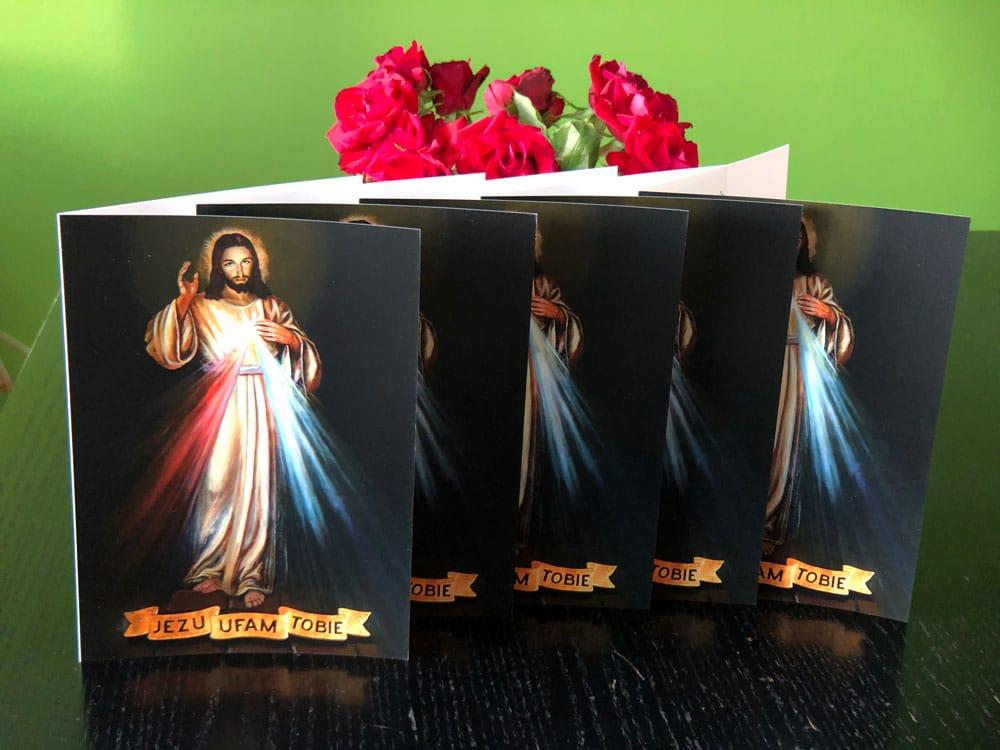 Jezu ufam Tobie - Modlitwa na początek dnia, Modlitwa na koniec dnia