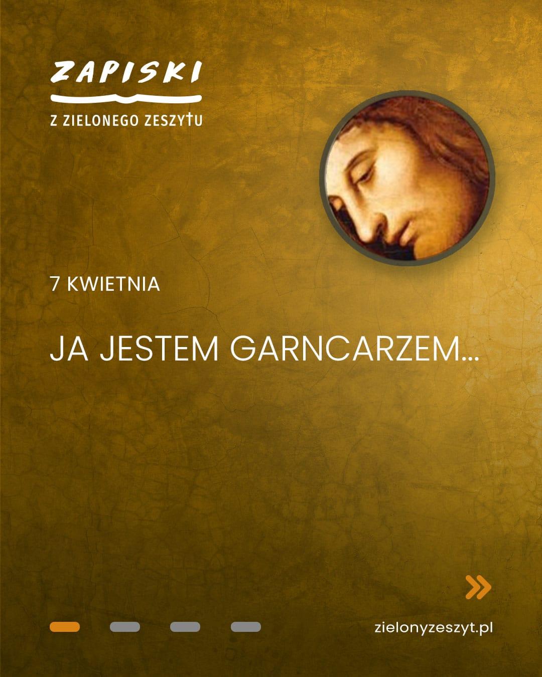 7 kwietnia - Ja jestem garncarzem... (Jezus mówi do ciebie)
