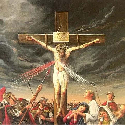 J 19, 31-37 Przebicie boku Chrystusa